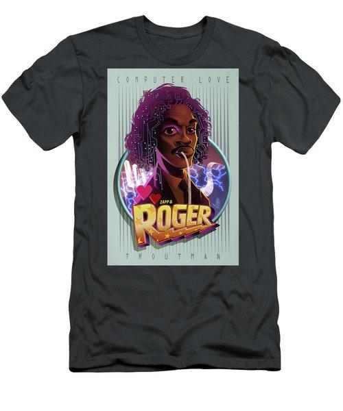 Computer Love Men's T-Shirt (Athletic Fit)
