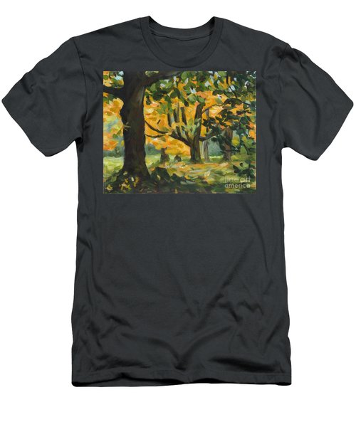 Concord Fall Trees Men's T-Shirt (Athletic Fit)