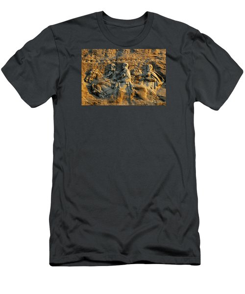 Confederate Carvings Men's T-Shirt (Athletic Fit)