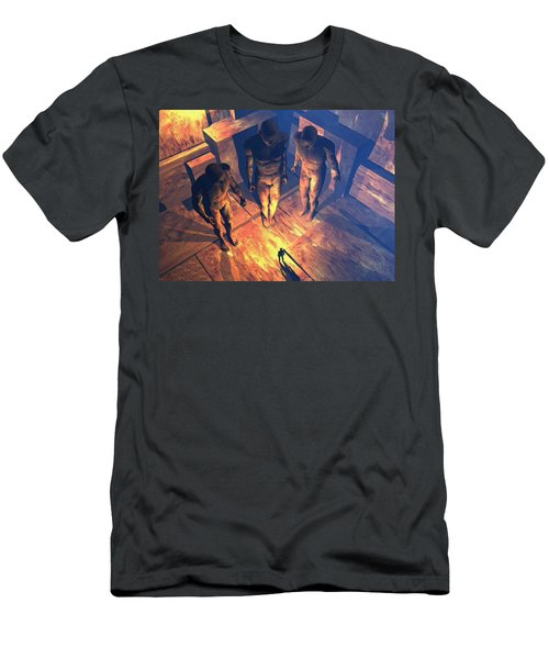 Confronted By Malignant Forces Men's T-Shirt (Athletic Fit)
