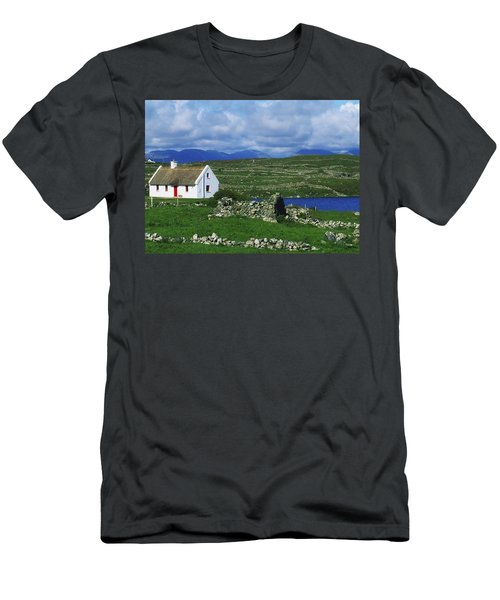 Connemara, Co Galway, Ireland Cottages Men's T-Shirt (Athletic Fit)