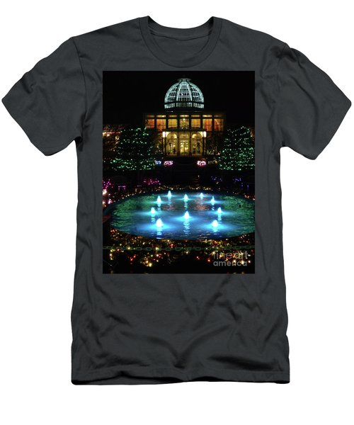 Conservatory At Night Men's T-Shirt (Athletic Fit)