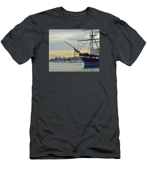 Constellation And Domino Sugars Men's T-Shirt (Slim Fit) by William Bartholomew