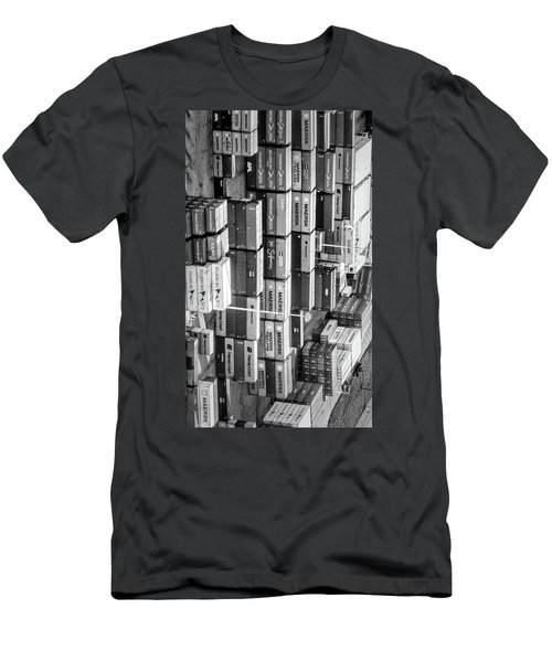 Container Library Men's T-Shirt (Athletic Fit)