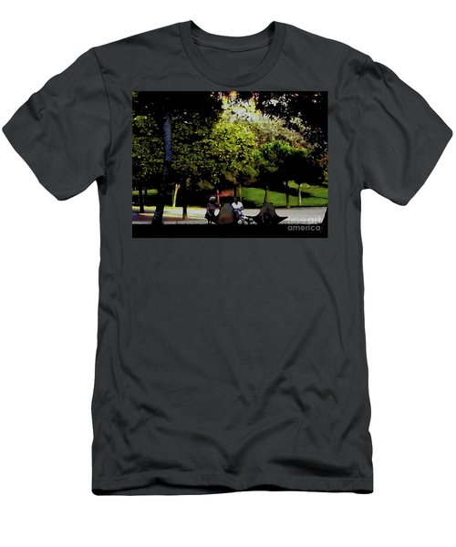 Conversation In The Park Men's T-Shirt (Athletic Fit)
