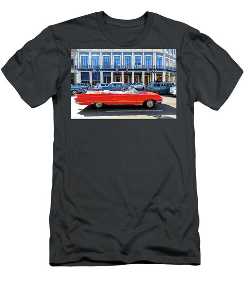 Convertible With Long Tailfins Men's T-Shirt (Athletic Fit)