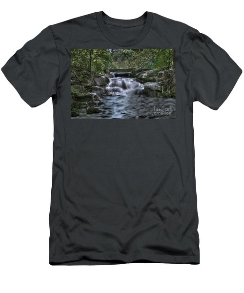 Cooling Waters  Men's T-Shirt (Athletic Fit)