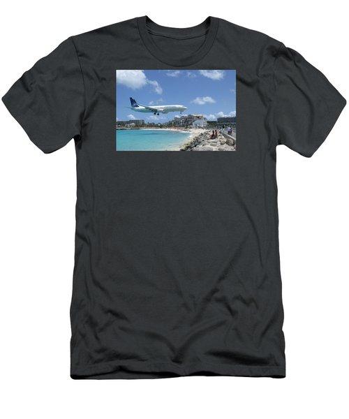 Copa 737 Princess Julianna Men's T-Shirt (Slim Fit) by Christopher Kirby