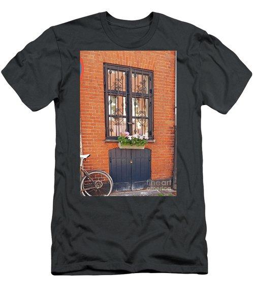 Copenhagen Window Men's T-Shirt (Slim Fit) by Eva Kaufman