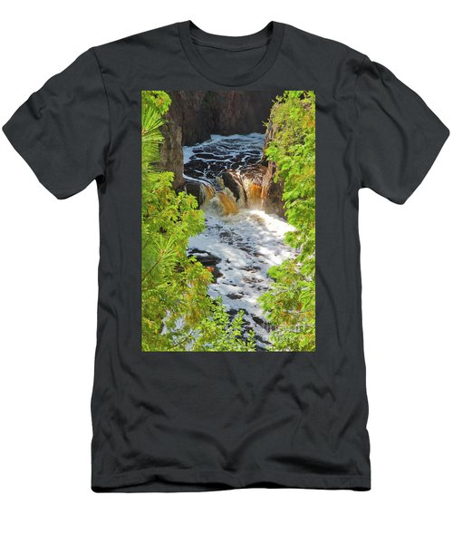 Copper Falls Men's T-Shirt (Athletic Fit)