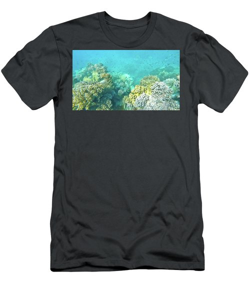 Men's T-Shirt (Athletic Fit) featuring the photograph Coral by Debbie Cundy