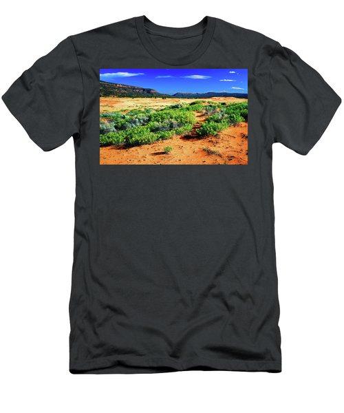 Coral Pink Sand Dunes Men's T-Shirt (Athletic Fit)