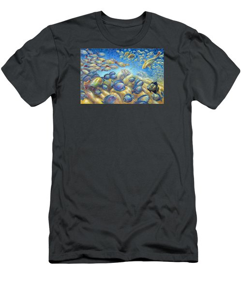 Coral Reef Life Silvers Men's T-Shirt (Athletic Fit)