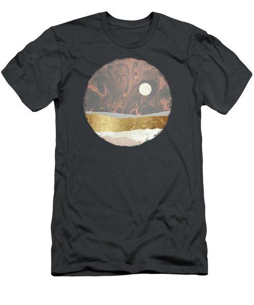 Coral Sky Men's T-Shirt (Athletic Fit)