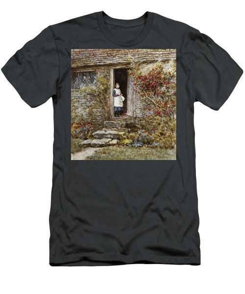 Corcorus Japonica Men's T-Shirt (Athletic Fit)