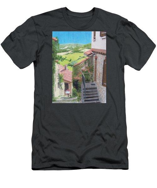 Cordes Sur Ciel 2 Men's T-Shirt (Slim Fit) by Constance DRESCHER