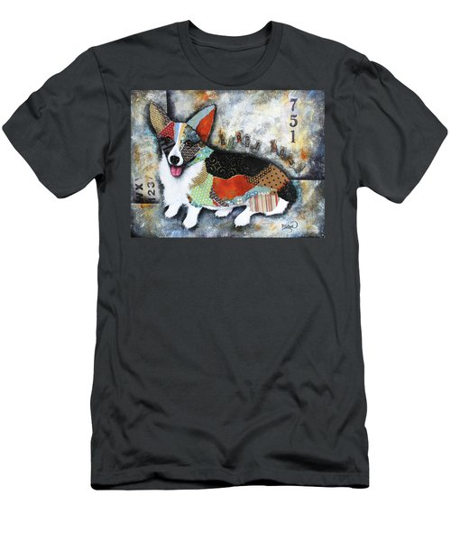 Corgi 2 Men's T-Shirt (Athletic Fit)