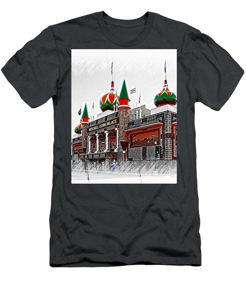 Corn Palace South Dakota Men's T-Shirt (Athletic Fit)