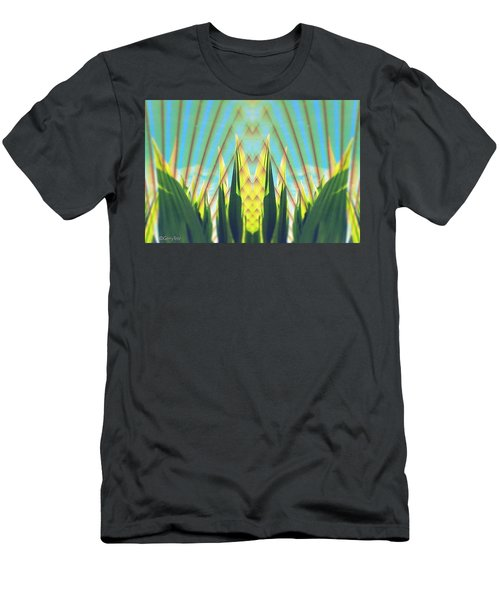 Cornfield At Sunrise Men's T-Shirt (Athletic Fit)