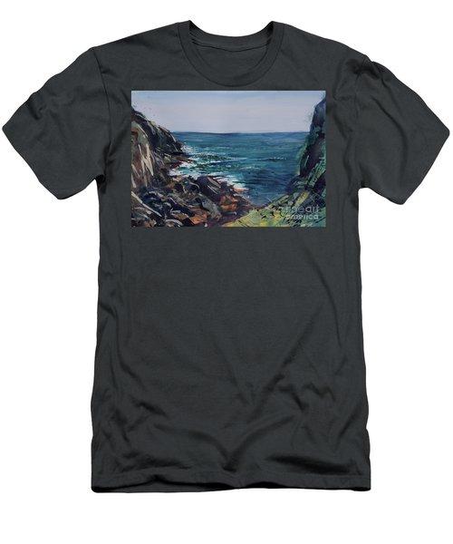 Cornish Clffs Men's T-Shirt (Athletic Fit)