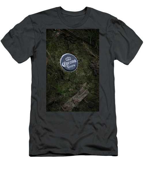 Men's T-Shirt (Slim Fit) featuring the photograph Corona Extra by Ray Congrove