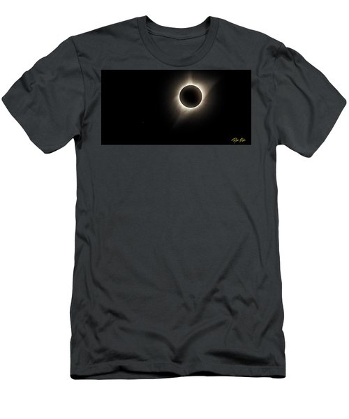 Men's T-Shirt (Athletic Fit) featuring the photograph Corona by Rikk Flohr
