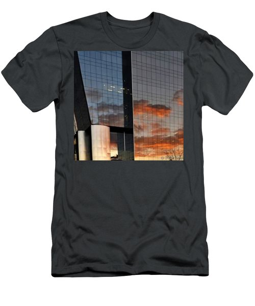 #corporative #architecture At Dusk Men's T-Shirt (Athletic Fit)