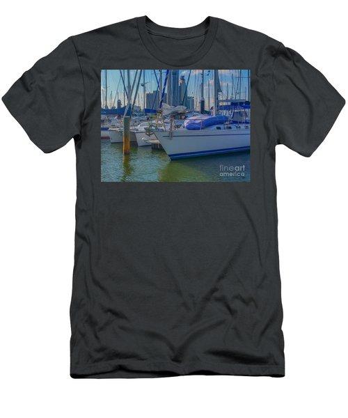 Corpus Christi Marina Men's T-Shirt (Athletic Fit)