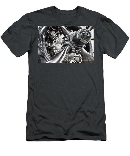 Corsair F4u Engine Men's T-Shirt (Slim Fit) by Bryan Keil