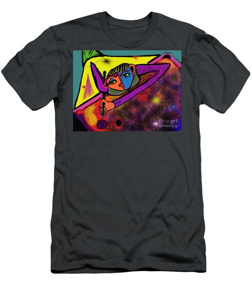 Cosmic Pool Men's T-Shirt (Athletic Fit)