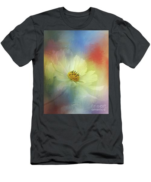 Cosmos Dreaming Abstract By Kaye Menner Men's T-Shirt (Athletic Fit)
