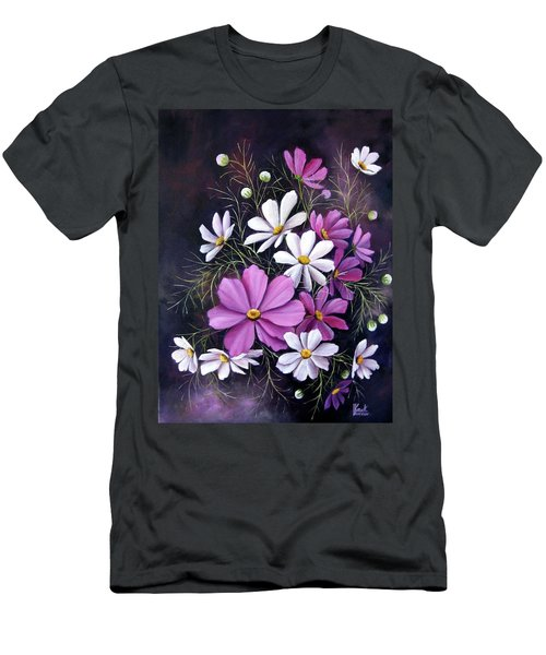 Cosmos Men's T-Shirt (Slim Fit) by Katia Aho