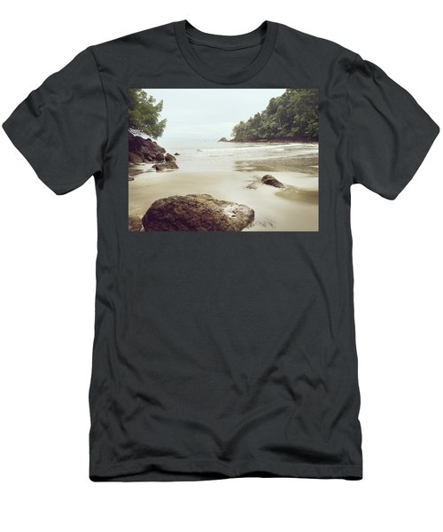 Men's T-Shirt (Athletic Fit) featuring the photograph Costa Rica by Lucian Capellaro