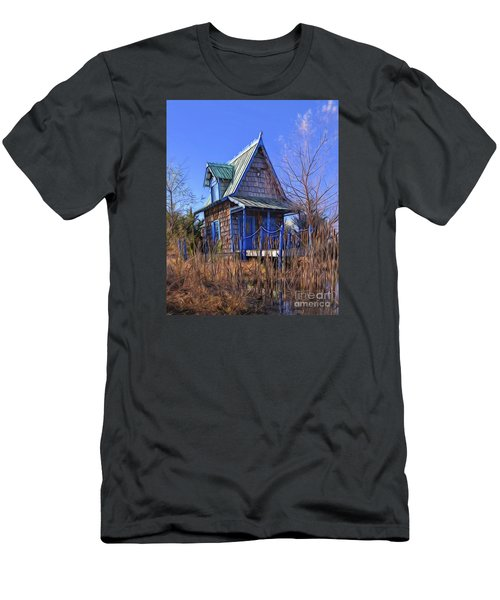 Cottage In The Willows Men's T-Shirt (Athletic Fit)
