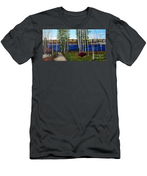 Cottage Life Men's T-Shirt (Slim Fit)