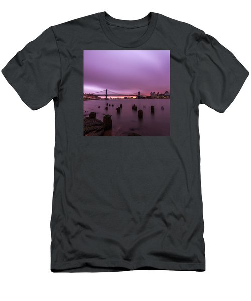 Men's T-Shirt (Slim Fit) featuring the photograph Cotton Candy  by Anthony Fields