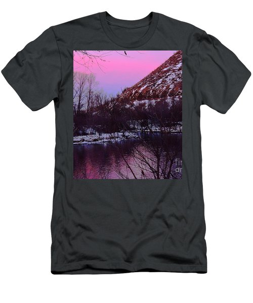 Cotton Candy On The Kittatinny Men's T-Shirt (Athletic Fit)
