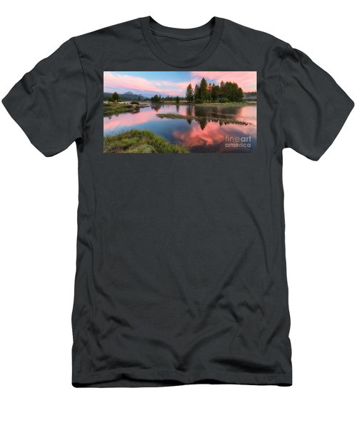 Cotton Candy Skies Men's T-Shirt (Athletic Fit)