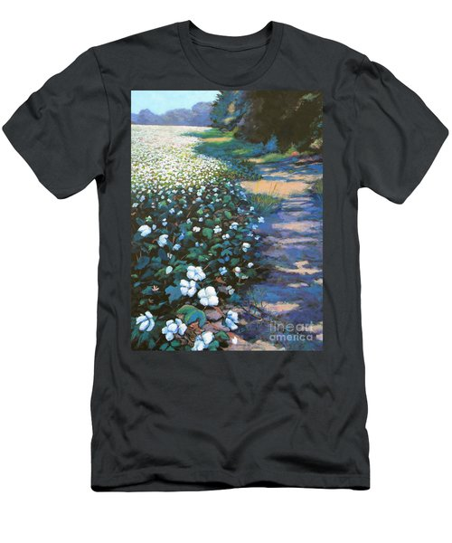 Cotton Field Men's T-Shirt (Slim Fit) by Jeanette Jarmon