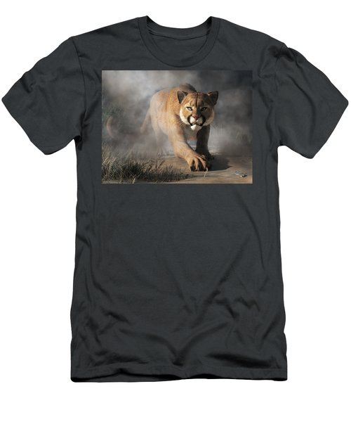 Cougar Is Gonna Get You Men's T-Shirt (Athletic Fit)