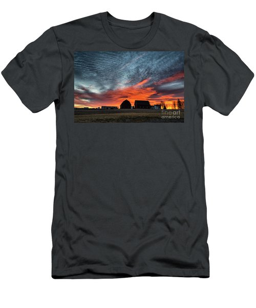 Country Barns Sunrise Men's T-Shirt (Athletic Fit)