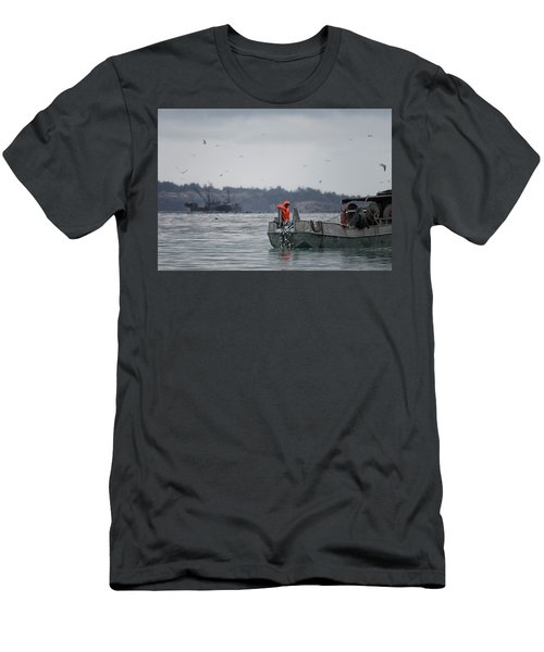 Men's T-Shirt (Slim Fit) featuring the photograph Country Club by Randy Hall