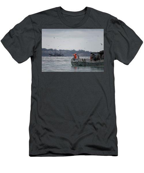 Country Club Men's T-Shirt (Slim Fit) by Randy Hall