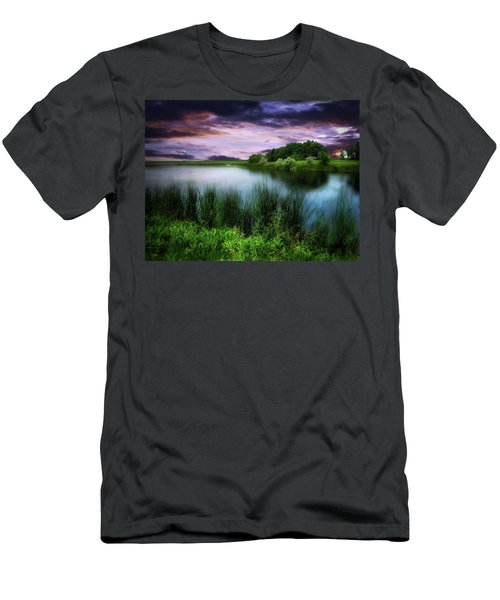 Country Lake Men's T-Shirt (Athletic Fit)