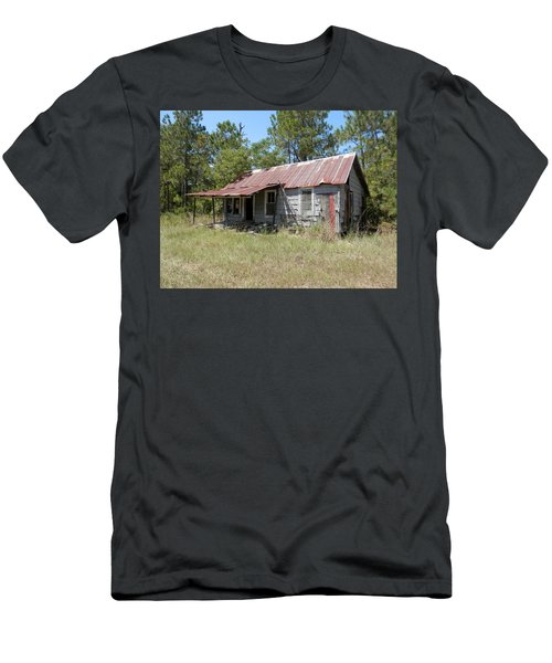 Country Living Gone To The Dawgs Men's T-Shirt (Slim Fit) by Belinda Lee