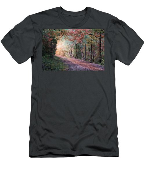 Country Road Men's T-Shirt (Slim Fit) by Bill Stephens