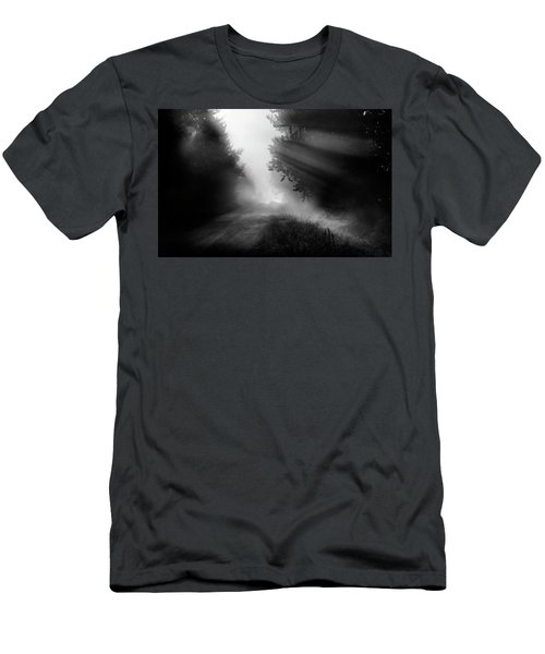 Men's T-Shirt (Slim Fit) featuring the photograph Country Trails by Dan Jurak