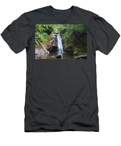 Courthouse Falls Men's T-Shirt (Athletic Fit)