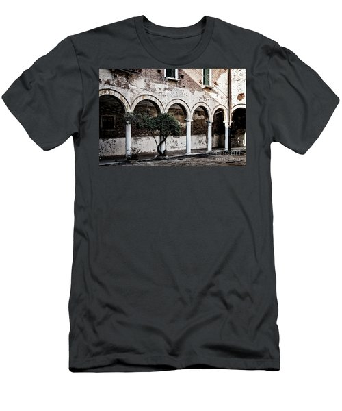 Courtyard Men's T-Shirt (Athletic Fit)