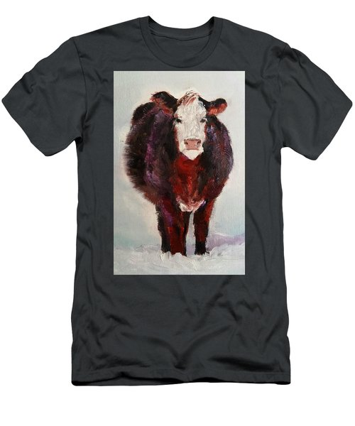 Cow Painting  Men's T-Shirt (Slim Fit) by Michele Carter